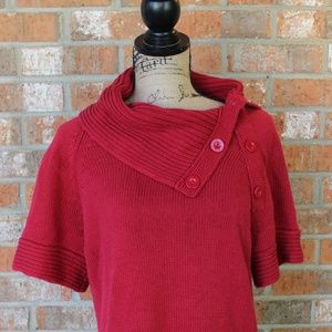 The Limited Red Short Sleeved Sweater XL
